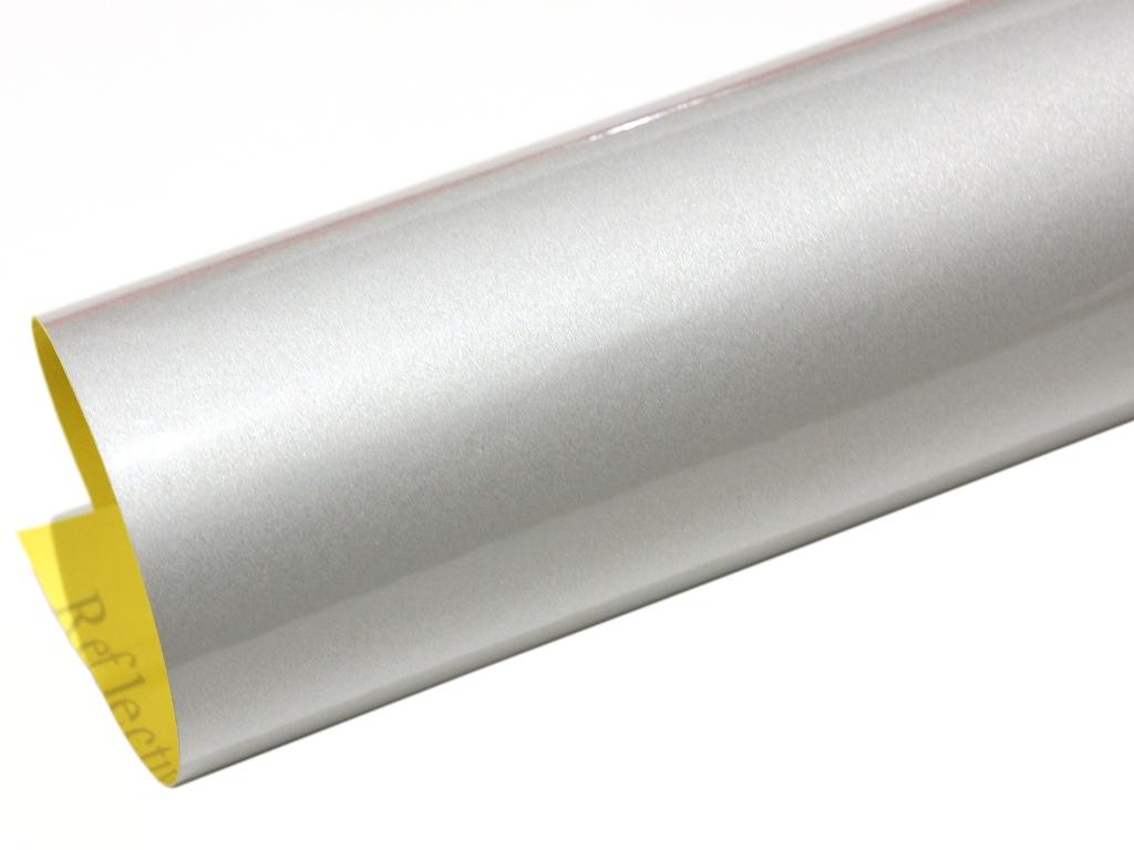 Reflektierende folie silber reflexfolie selbstklebend 120 for Designfolie selbstklebend