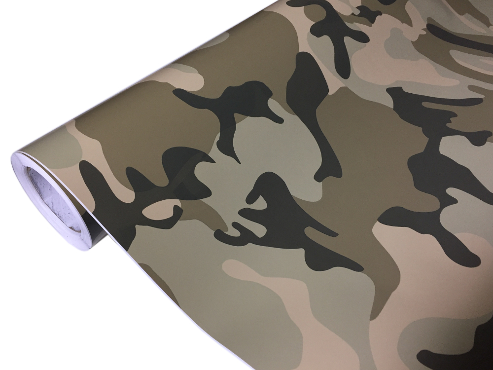 Chrom Matt Metallic u.s.w. Matt Glänzend MUSTER Folien Camouflage Gebürstet