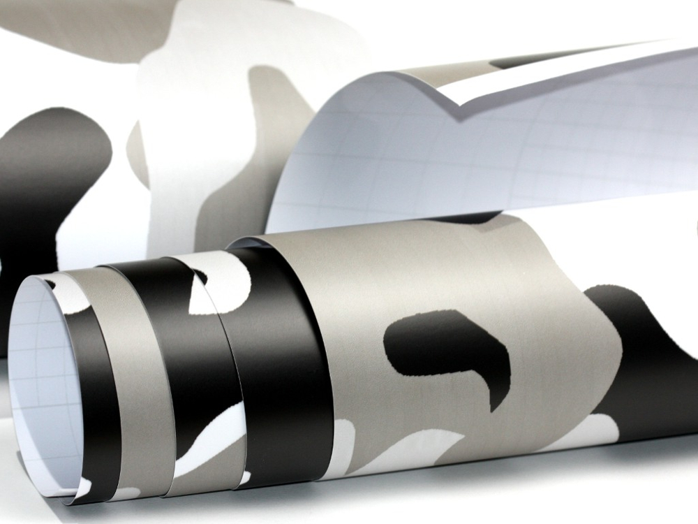 camouflage folie 200cm x 152cm luftkan le schwarz wei. Black Bedroom Furniture Sets. Home Design Ideas