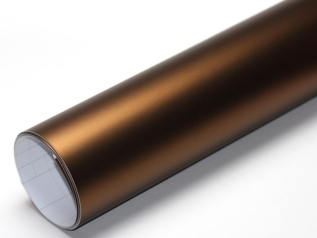 kaffee braun chrom matt metallic 50cm x 152cm blasenfrei. Black Bedroom Furniture Sets. Home Design Ideas