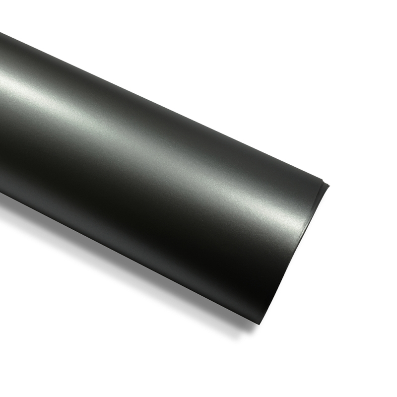 dunkelgrau auto folie chrom matt metallic 300cm x 152cm. Black Bedroom Furniture Sets. Home Design Ideas