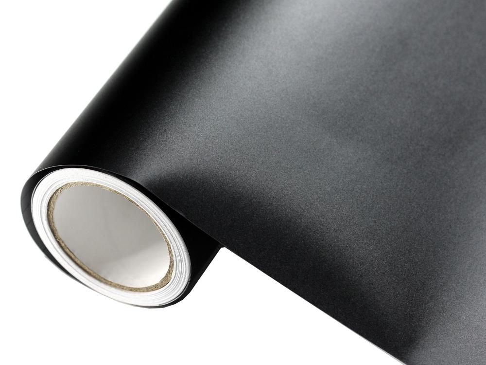 rauh matt schwarz autofolie 50cm x 152cm blasenfrei. Black Bedroom Furniture Sets. Home Design Ideas
