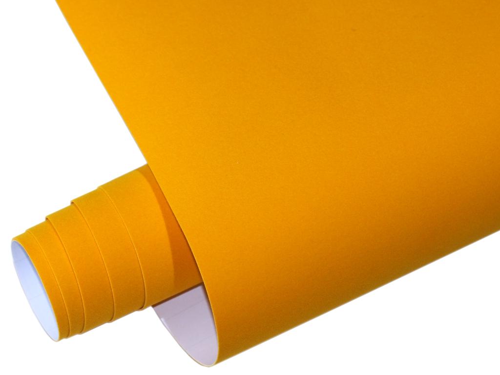 Samt Velourfolie selbstklebend Weiß 700cm x 135cm VELVET Matt