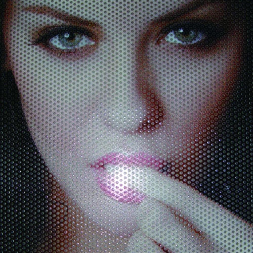 One Way Vision Folie Lochfolie für Digitaldruck 100cm x 137cm Sichtschutzfolie