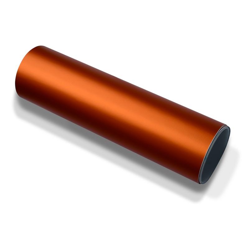 autofolie orange matt chrom metallic selbstklebend. Black Bedroom Furniture Sets. Home Design Ideas