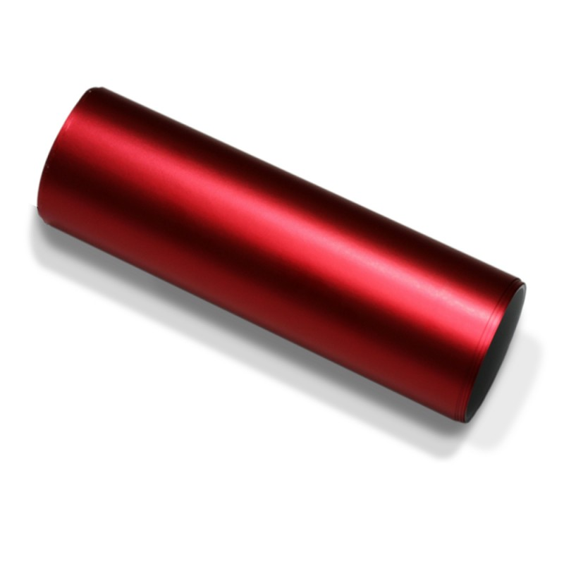 Autofolie rot matt chrom metallic selbstklebend luftkan le for Folie selbstklebend