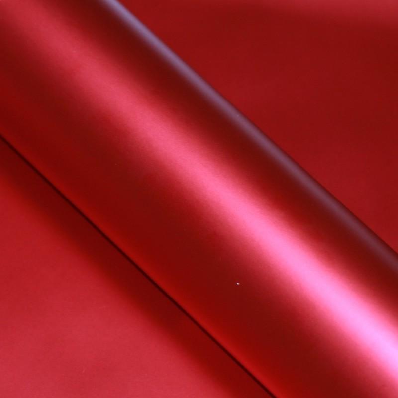 autofolie rot matt chrom metallic selbstklebend luftkan le. Black Bedroom Furniture Sets. Home Design Ideas